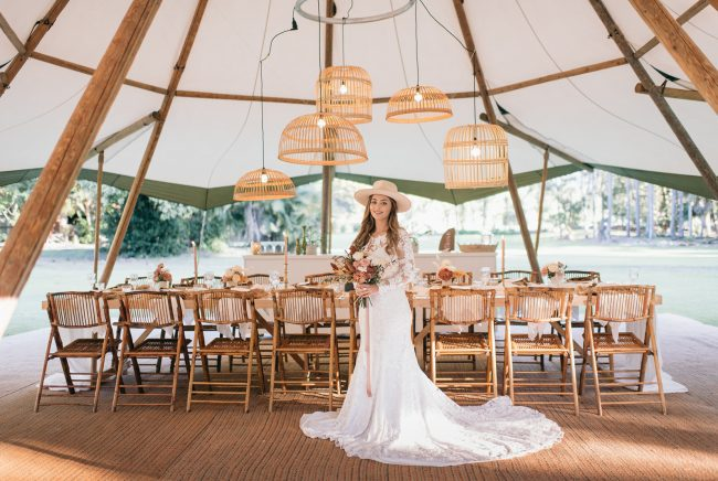 Gold Coast Tipi Wedding Magic