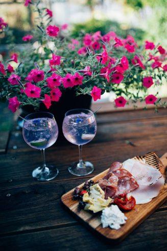 Osteria grazing platter