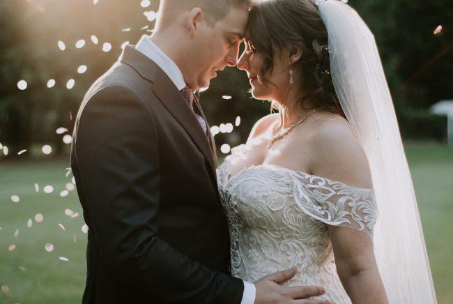 EMILY + BEN > REAL WEDDING