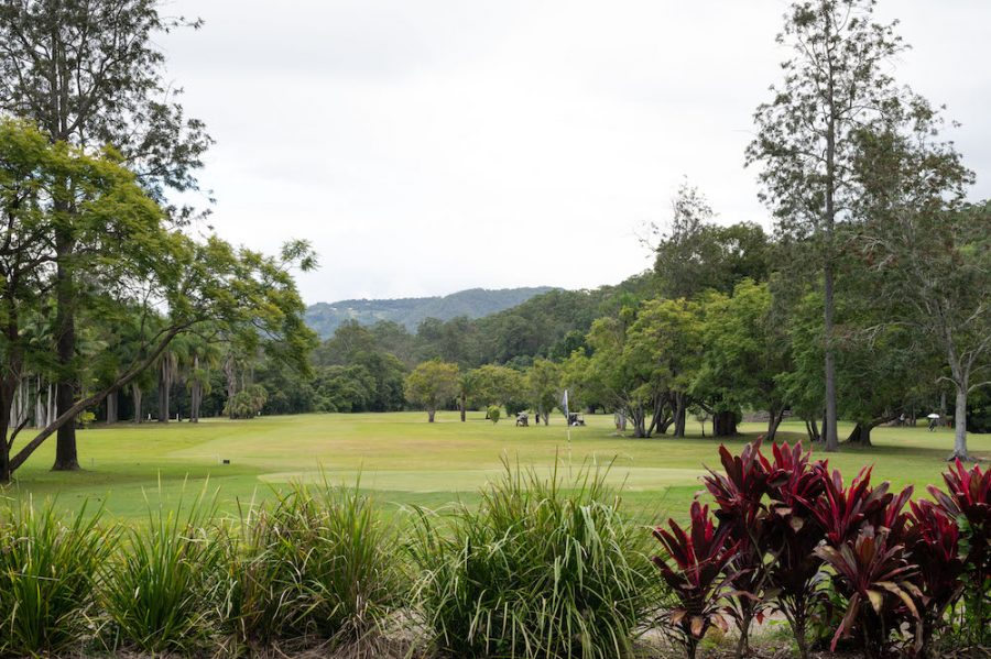 Friends of The Acre boomerang farm golf course