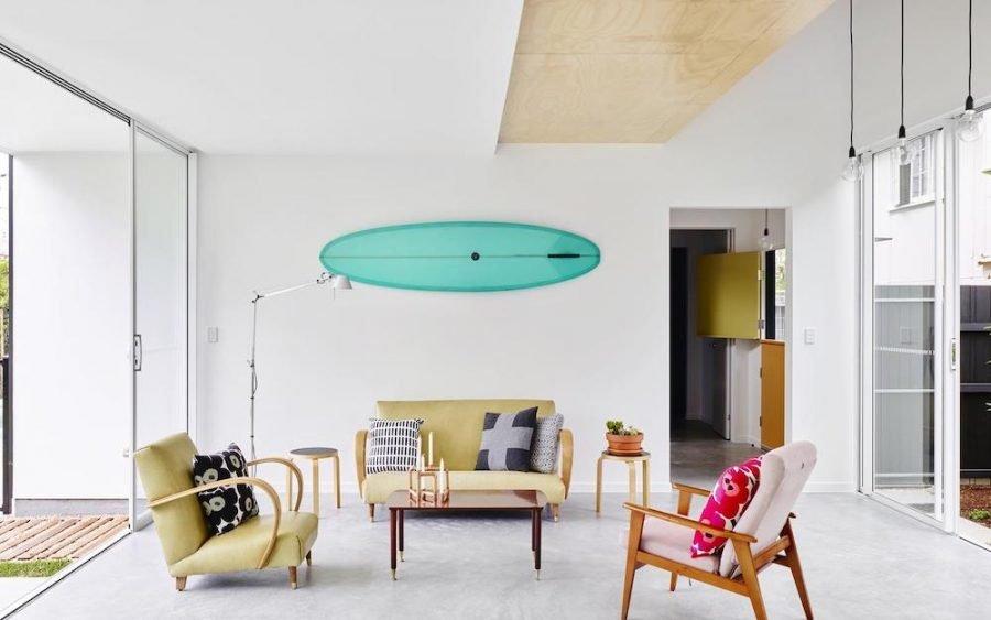 Mermaid beach accommodation living room modern decor