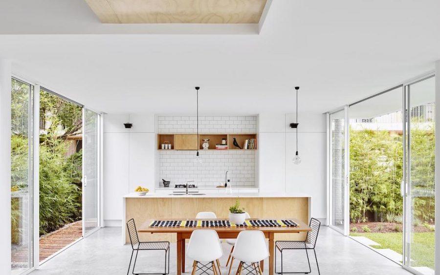 Mermaid Beach minimalist kitchen