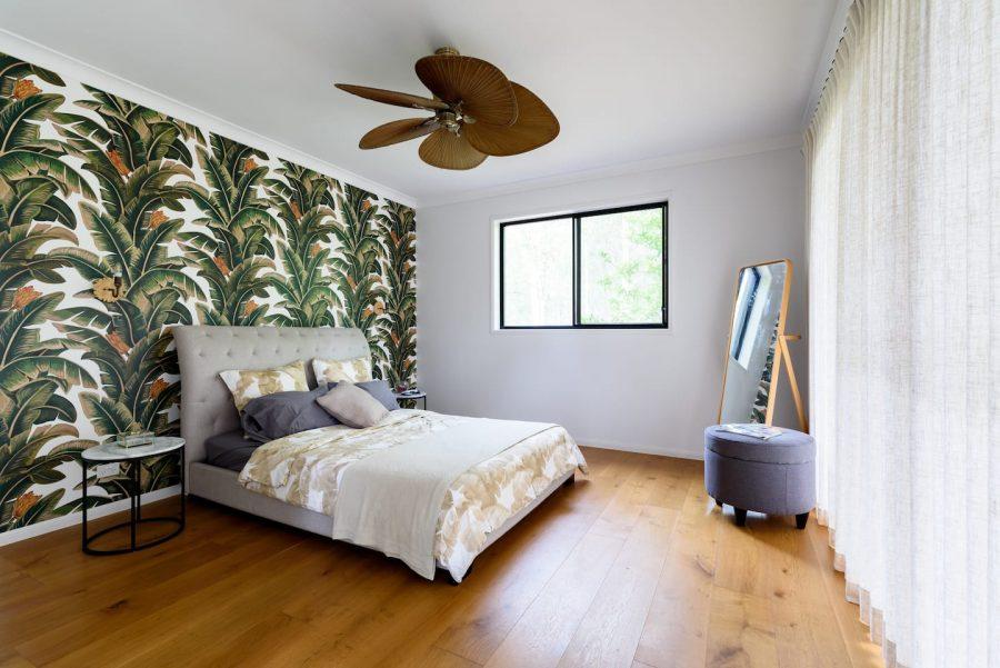 gold coast wedding accommodation master bedroom