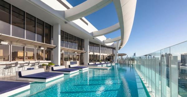 gold coast casino rooftop pool